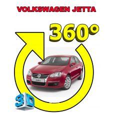 Штатная интеллектуальная 3D система кругового обзора автомобиля сПАРК-BDV-360-R для Volkswagen Jetta , с функцией видеорегистратора