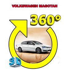 Штатная интеллектуальная 3D система кругового обзора автомобиля сПАРК-BDV-360-R для Volkswagen Magotan , с функцией видеорегистратора