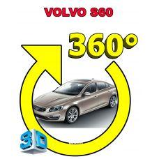 Штатная интеллектуальная 3D система кругового обзора автомобиля сПАРК-BDV-360-R для Volvo S60, с функцией видеорегистратора