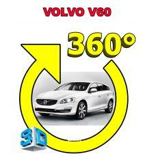 Штатная интеллектуальная 3D система кругового обзора автомобиля сПАРК-BDV-360-R для Volvo V60, с функцией видеорегистратора