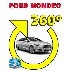 Штатная 3D система кругового обзора автомобиля сПАРК-BDV-360-R для Ford Mondeo , с функцией видеорегистратора