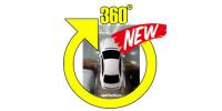 Универсальная интеллектуальная система кругового обзора автомобиля сПАРК-BDV-360-R (V2.0), Bird view с функцией записи