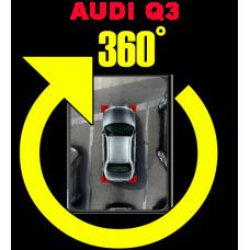 Штатная интеллектуальная система кругового обзора автомобиля сПАРК-BDV-360-R для Audi Q3, с функцией видеорегистратора