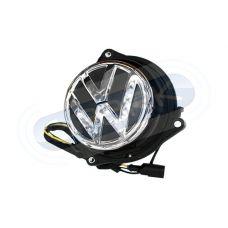 Штатная камера заднего вида в значек VW сПАРК-VW-EK