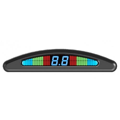 Парктроник с контролем слепых зон cПАРК-6Ubz (вкл. от дат. скор.)
