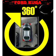 Штатная интеллектуальная система кругового обзора автомобиля сПАРК-BDV-360-R для Ford Kuga, с функцией видеорегистратора