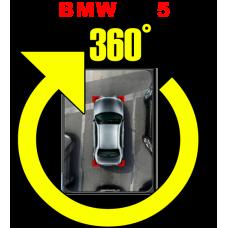 Штатная интеллектуальная система кругового обзора автомобиля сПАРК-BDV-360-R для BMW 5, с функцией видеорегистратора