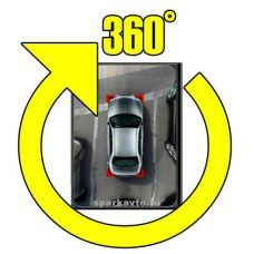 Универсальная интеллектуальная система кругового обзора автомобиля сПАРК-BDV-360-R (V1.2), Bird view с функцией записи