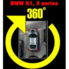 Штатная интеллектуальная система кругового обзора автомобиля сПАРК-BDV-360-R для BMW X1, 3 series , с функцией видеорегистратора
