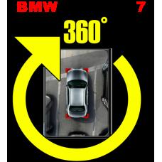 Штатная интеллектуальная система кругового обзора автомобиля сПАРК-BDV-360-R для BMW 7, с функцией видеорегистратора