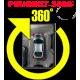 Штатная интеллектуальная система кругового обзора автомобиля сПАРК-BDV-360-R для Peugeot 3008 , с функцией видеорегистратора