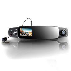 Трехканальный видеорегистратор в зеркале MDVR-3MHD