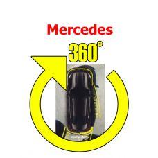 Штатная интеллектуальная система кругового обзора автомобиля сПАРК-BDV-360-R для Mercedes, с функцией видеорегистратора