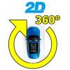 2D системы кругового обзора для легковых автомобилей