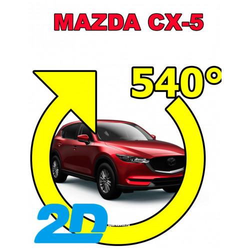 Штатная 2D система кругового обзора Spark-BDV-540-R-MZD для Mazda CX-5