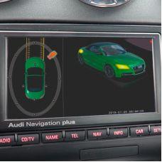 Штатная интеллектуальная 3D система кругового обзора автомобиля сПАРК-BDV-360-R для Audi TT, с функцией видеорегистратора