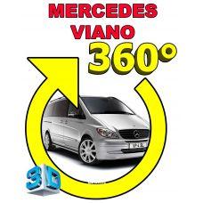 Штатная интеллектуальная 3D система кругового обзора автомобиля сПАРК-BDV-360-R для Mercedes-Benz Viano, с функцией видеорегистратора