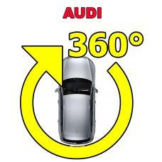 Штатная система кругового обзора автомобиля сПАРК-BDV-360-R для Audi со встроенным видеоинтерфейсом, с функцией видеорегистратора