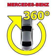 Штатная система кругового обзора автомобиля сПАРК-BDV-360-R для Mercedes со встроенным видеоинтерфейсом, с функцией видеорегистратора