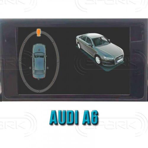 Система кругового обзора автомобиля сПАРК-BDV-360-R для Audi A6, с функцией видеорегистратора