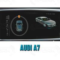 Система кругового обзора автомобиля сПАРК-BDV-360-R для Audi A7, с функцией видеорегистратора