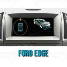 Система кругового обзора автомобиля сПАРК-BDV-360-R для Ford Edge , с функцией видеорегистратора