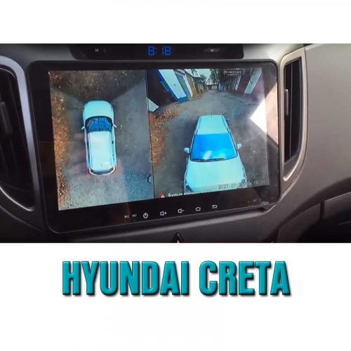 Система кругового обзора автомобиля сПАРК-BDV-360-R для Hyundai Creta, с функцией видеорегистратора