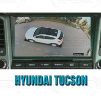 Система кругового обзора автомобиля сПАРК-BDV-360-R для Hyundai Tucson, IX35, с функцией видеорегистратора