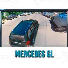 Штатная интеллектуальная 3D система кругового обзора автомобиля сПАРК-BDV-360-R для Mercedes-Benz ML / GL, с функцией видеорегистратора