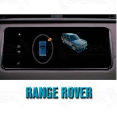 Штатная интеллектуальная 3D система кругового обзора автомобиля сПАРК-BDV-360-R для Land Rover Range Rover IV, с функцией видеорегистратора