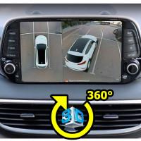 Spark 360° универсальная 3D система кругового обзора автомобиля сПАРК-BDV-360-R, с функцией видеорегистратора