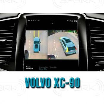 Штатная интеллектуальная 3D система кругового обзора автомобиля сПАРК-BDV-360-R для Volvo XC60, с функцией видеорегистратора