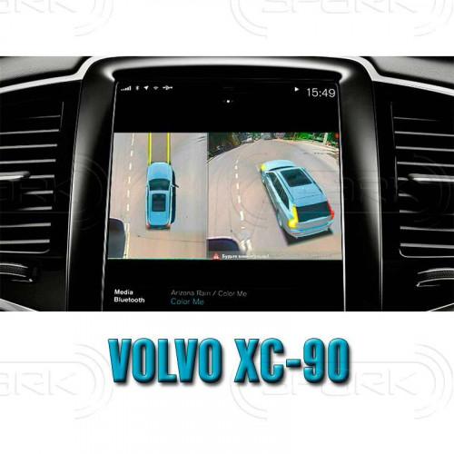 Система кругового обзора автомобиля сПАРК-BDV-360-R для Volvo XC60, с функцией видеорегистратора